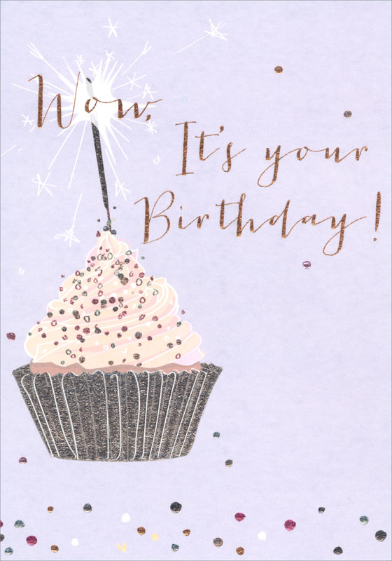Belly Button Designs Cupcake Birthday Card Ome390nq