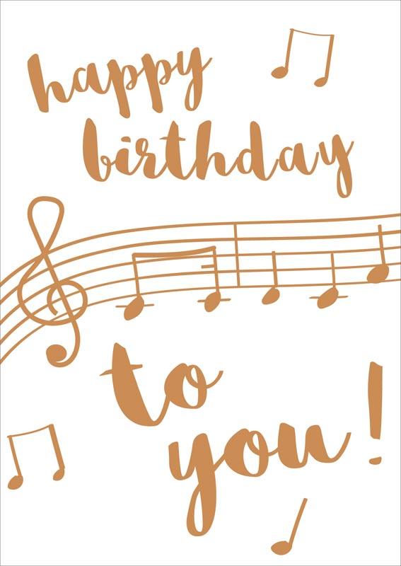 Caroline Gardner Notes Birthday Card Naq046