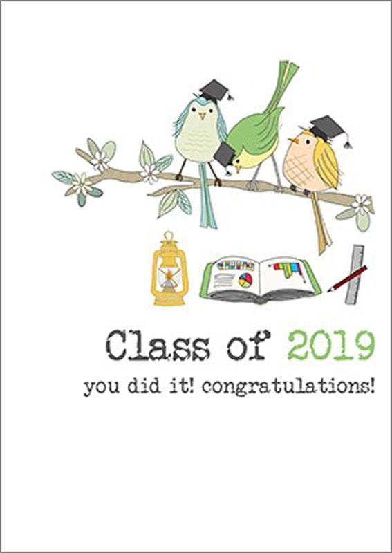 Dandelion Stationery 2019 Congratulations Graduation Card Dww577
