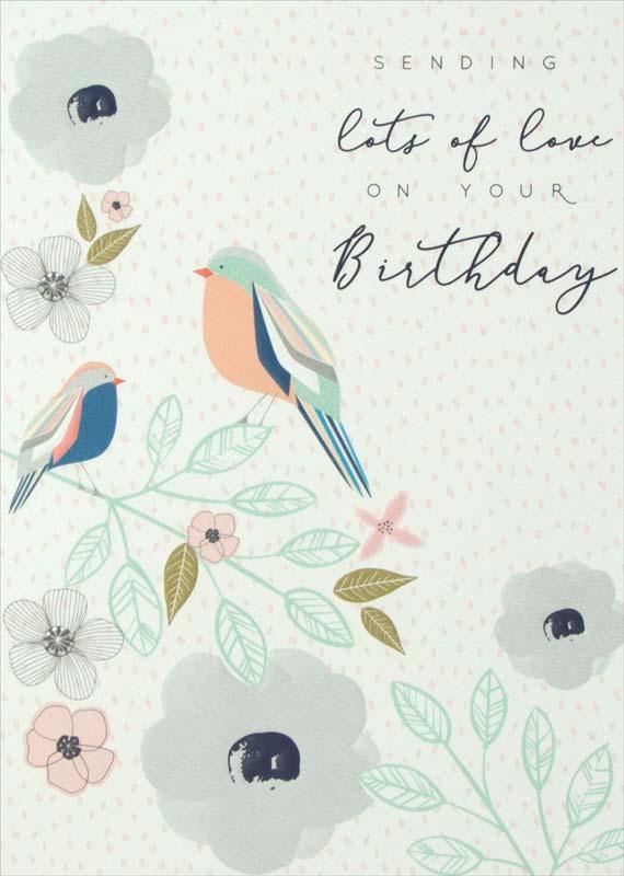 Laura Darrington Design Lots Love Birthday Card Hy018
