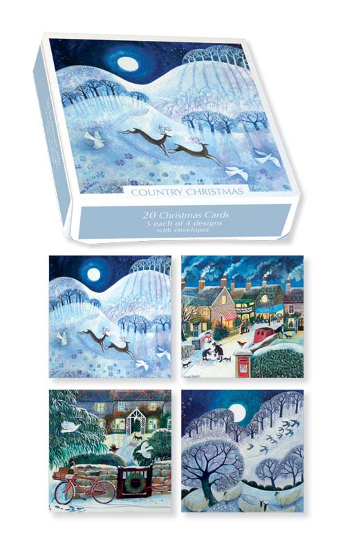 Museums galleries country christmas boxed cards xet203 m4hsunfo