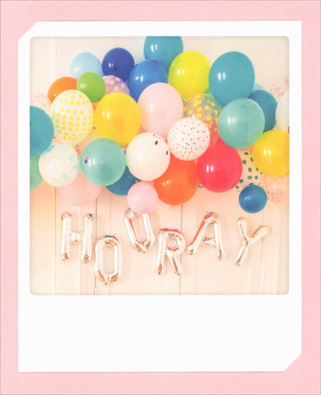 Pickmotion Balloons Birthday Card Zg0517