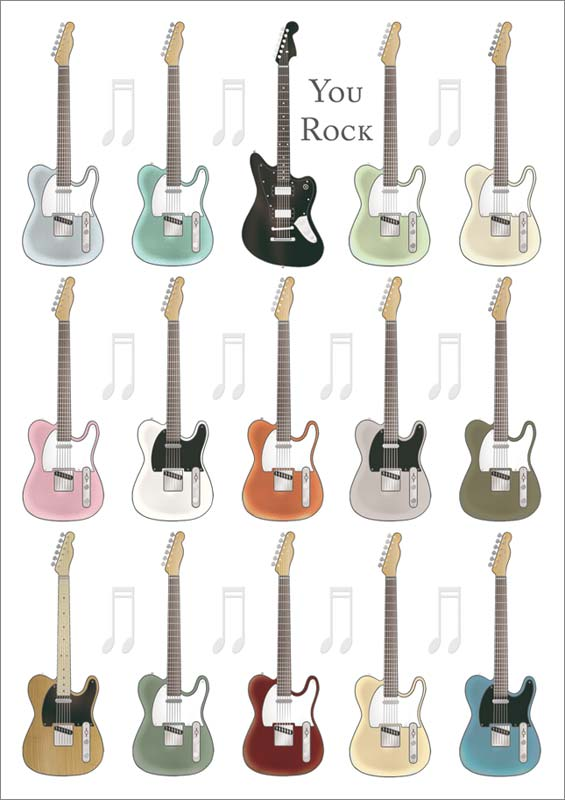 Quire publishing guitar birthday card mc3365 bookmarktalkfo Choice Image