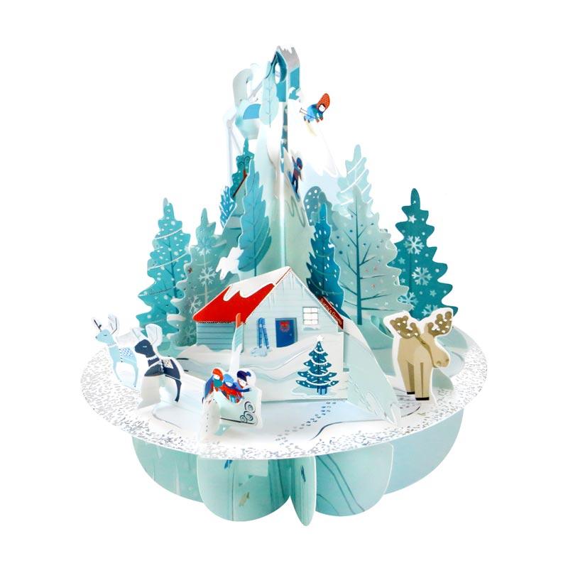 Santoro Ltd 3d Winter Wonderland Christmas Card Xps084