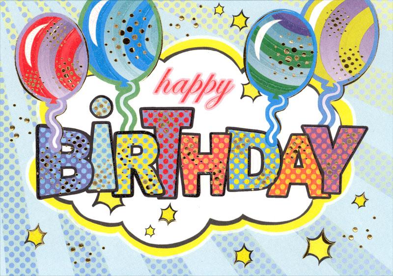 Turnowsky Comics Birthday Card Mo6698