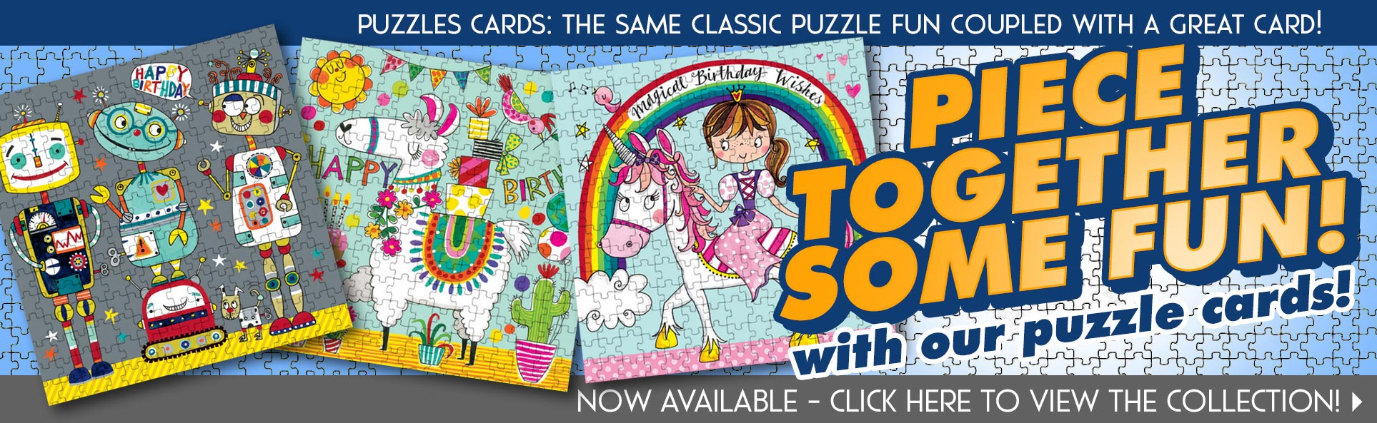 Piece Together Some Fun with Rachel Ellen Jigsaw Puzzle Cards!