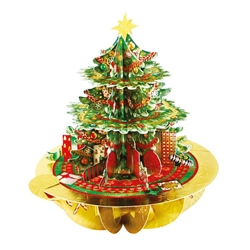 3D Christmas Tree - Christmas Card Christmas