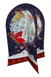 3D Santas Sleigh - Advent Calendar Christmas