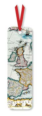 A Map of Europe - Bookmark desk accessories