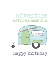 Adventure - Birthday Card