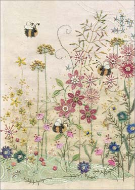 Bees Meadow - Blank Card