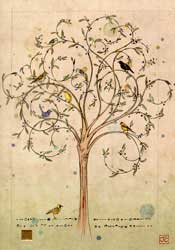 Bird Tree - Blank Card