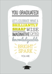 Bright - Graduation Card