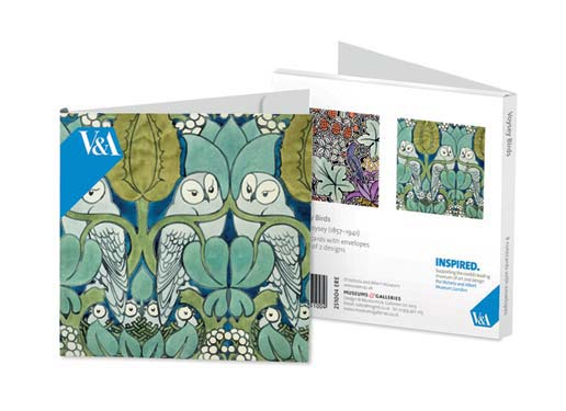 C.F.A. Voyseys Birds - Notecard Wallet notecards and stationery