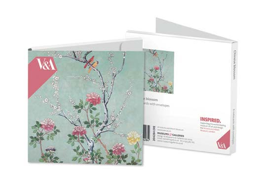 Chinese Blossom - Notecard Wallet notecards and stationery
