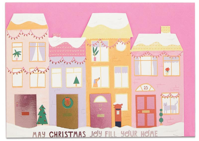 Christmas Row Homes ? Christmas Card
