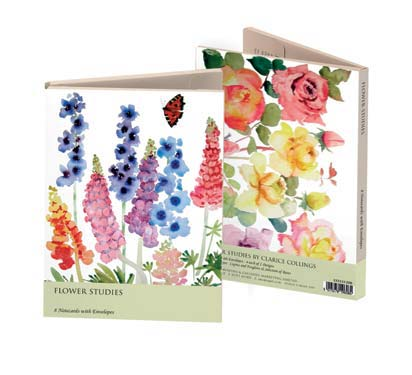 Clarice Collings Flower Studies - Notecard Wallet notecards and stationery