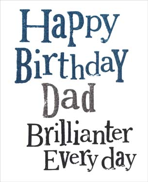 Dad - Birthday Card