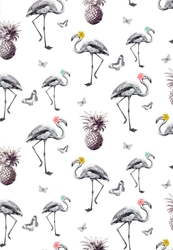 Flamingos - Sheet Gift Wrap