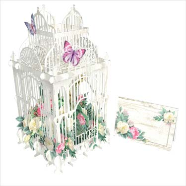 Flower Cage - Blank Card