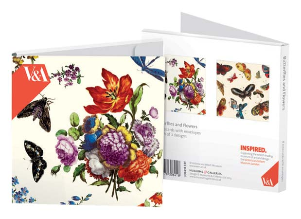 Flowers & Butterflies - Notecard Wallet notecards and stationery