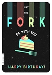 Fork be with You - Birthday Card