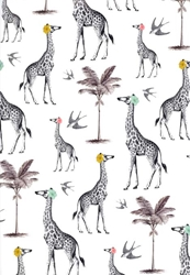 Giraffes - Sheet Gift Wrap