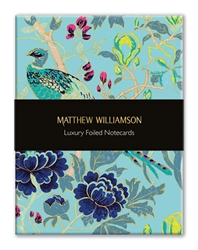 Matthew Williamson Birds & Blossom - Luxury Foiled Notecards notecards and stationery