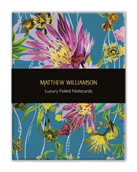 Matthew Williamson Floral Ribbons - Luxury Foiled Notecards notecards and stationery