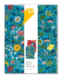 V&A Chinese Florals - Luxury Foiled Notecards notecards and stationery