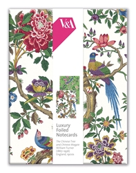 V&A Chinese Tree - Luxury Foiled Notecards notecards and stationery