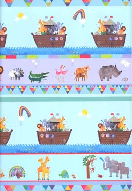 Noahs Ark - Sheet Gift Wrap