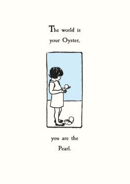 Oyster / Pearl - Friendship Card