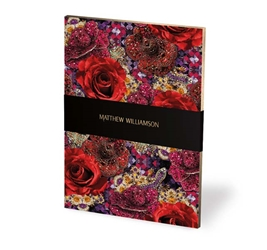 Matthew Williamson Precious Rose - Deluxe Notebook journals and notebooks