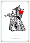 Queen of Hearts - Blank Card