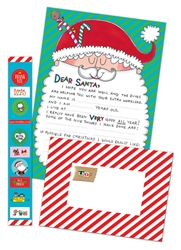 Santas Face Letter to Santa Kit Christmas
