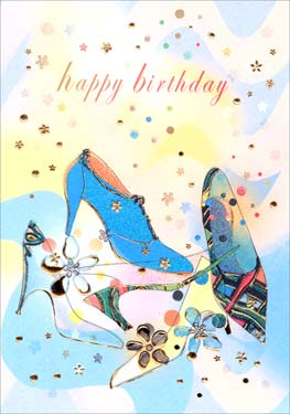 Shoes - Birthday Card
