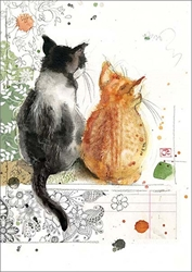 Two Kittens - Blank Card