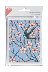 V&A Almond Blossom - Social Stationery notecards and stationery