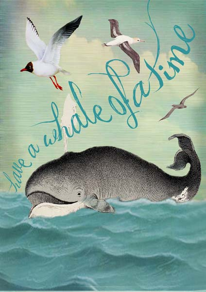 Whale of Time - Friendship Card