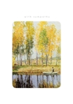 Yellow Trees - Sympathy Card