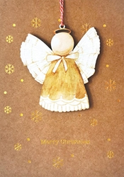 Angel Bauble ? Christmas Card Christmas