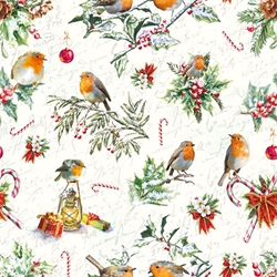 Robin Candy - Christmas Cocktail Napkins Christmas