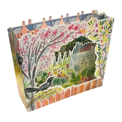 3D Allotments Birds - Blank Card
