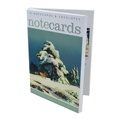Christmas Morning ? Notecard Wallets notecards and stationery