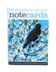 1 NCW BLACKBIRD   ART ANGELS notecards and stationery