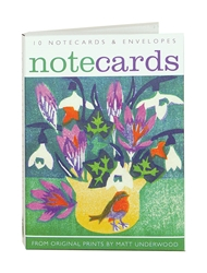 1 NCW FLOWERS/POTS ART ANGELS notecards and stationery