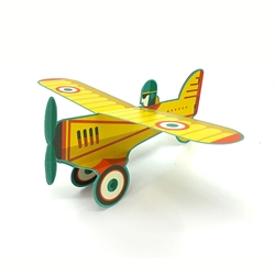 3D Airplane - Blank Card