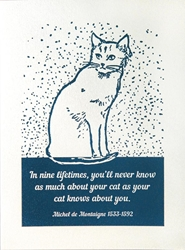 Cat Kows You - Friendship Card Friendship