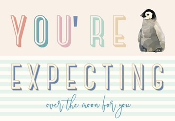 Expecting - Baby Card